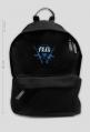 What the frag?! Czarny plecak