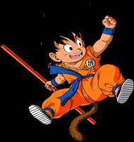 Poduszka-Mały Goku