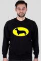 Bluza męska Jamnik Batman