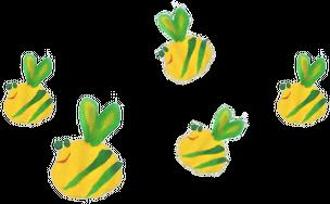 Kwiatki i pszczółki