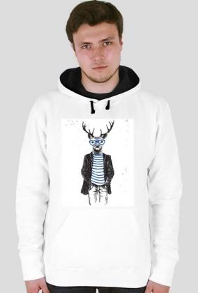Hipster jeleń
