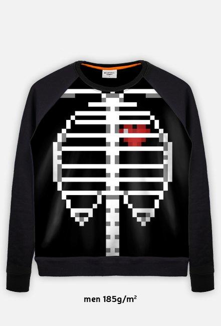 PUXU Pixel Art Bluza Kości