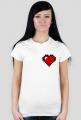 PUXU Pixel Art Koszulka Serce