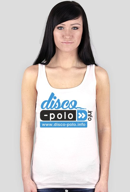Bokserka damska DISCO POLO (biała)