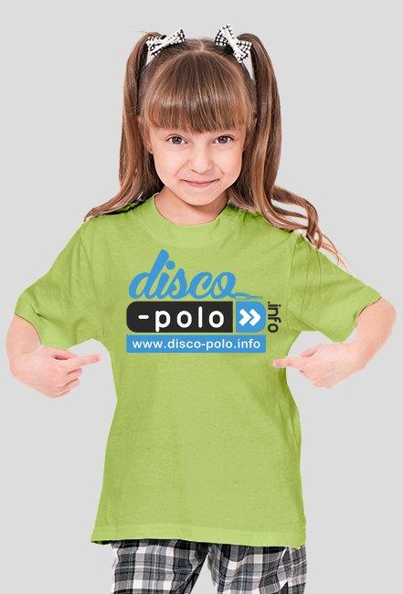 Koszulka dziecięca DISCO POLO (unisex - różne kolory)