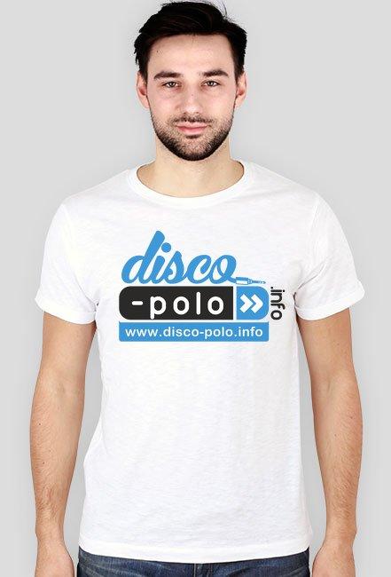 Koszulka SLIM męska DISCO POLO