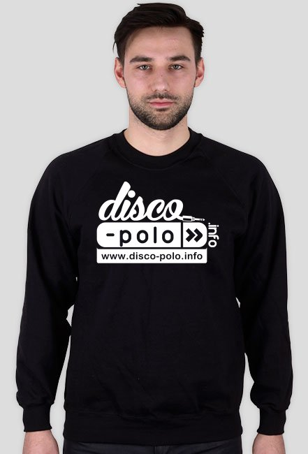 Bluza męska DISCO POLO (czarna)