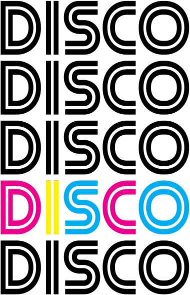 Koszulka damska DISCO - biała