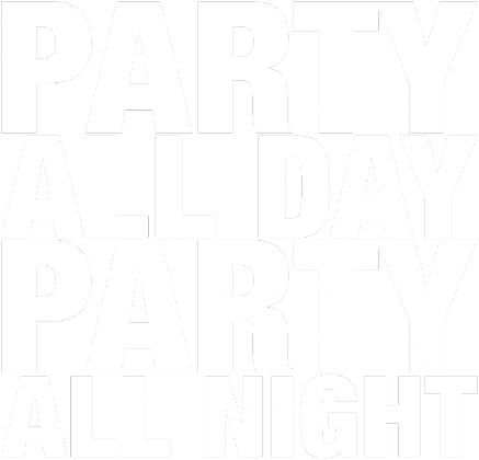 Bluza damska - PARTY ALL DAY, ALL NIGHT (czarna)