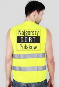 Kamizelka odblaskowa - Najgorszy Sort Polaków