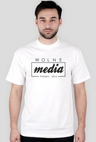 Koszulka męska - Wolne media