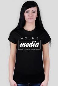 Koszulka damska - Wolne media_!