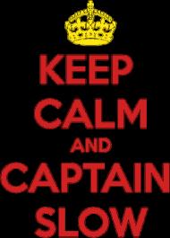 Keep Calm & Captain Slow - kubek