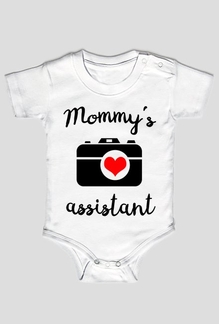 Mommy's assistant - body foto Camwear