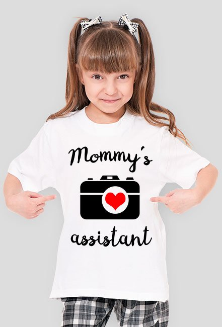 Mommy's assistant - koszulka foto Camwear