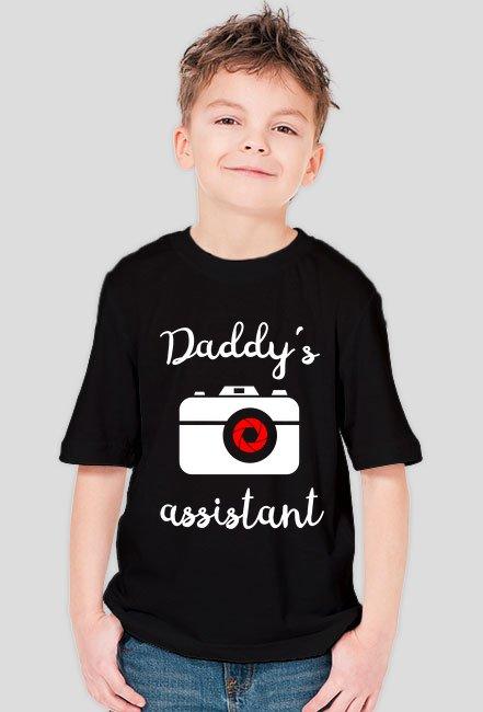 Daddy's assistant - koszulka fotograficzna Camwear