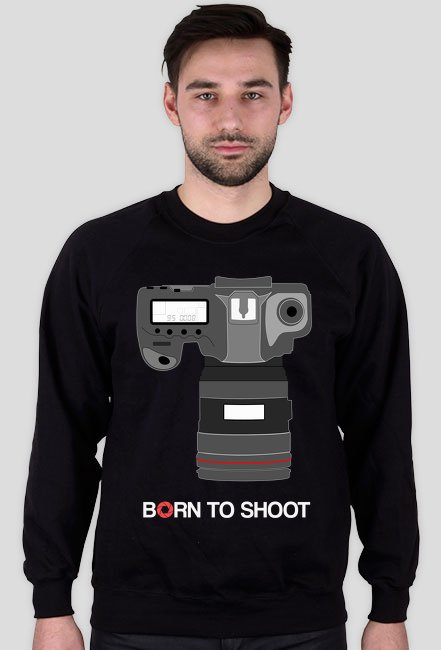 BLUZA BORN TO SHOOT