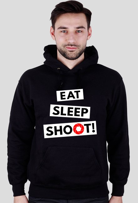 EAT SLEEP SHOOT! - Bluza foto w Camwear