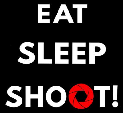 Eat sleep shoot! Mug