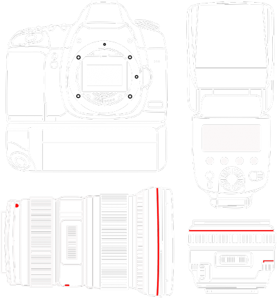 Photography equipment bag