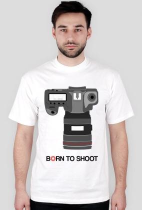 BORN TO SHOOT - Koszulka foto w Camwear
