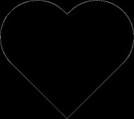 Kubek z czarnym sercem - FITlovin