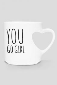 Kubek motywacyjny You Go Girl - FITlovin