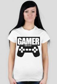 """Koszulka gracza """"Gamer"""" damska"""