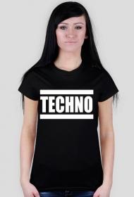 "Koszulka damska ""Techno"""