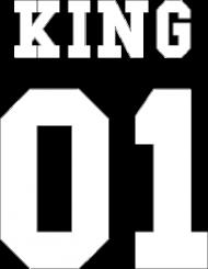 "Bluza meska ""King"" tył"