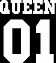 "Bluza damska ""Queen"" tył"