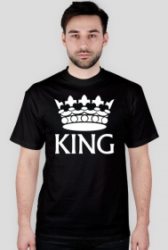 "Koszulka męska ""King"""