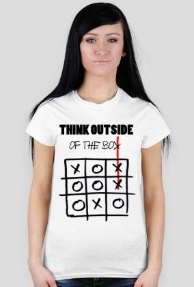 ad9b607f4f8ac6 Think Outside of the Box Damska - koszulki w Modne Koszulki dla ...