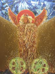 Koszulka damska Święty Cherub
