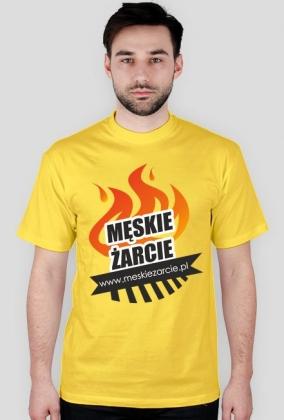 Męskie Żarcie - koszulka fana