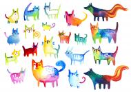 Malowane Koty 1