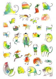 Malowane Koty 3