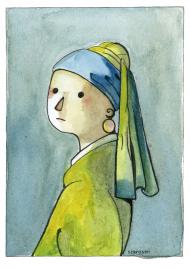 Plakat Dziewczyna z perłą
