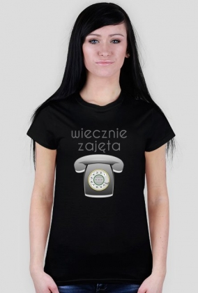 Koszulka zajętej pani