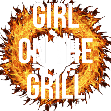 Girl on the grill