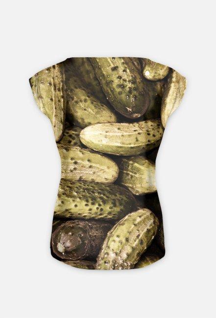 Koszulka w ogórki - Koszulka FullPrint MuodeMotywy
