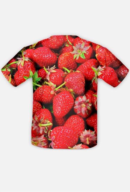 Koszulka w truskawki - Koszulka FullPrint MuodeMotywy