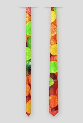 Krawat w żelki cukierki słodycze słodkości od MuodeMotywy