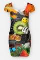 Sukienka-kolaż - Sukienka FullPrint MuodeMotywy