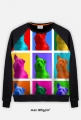 Drops Pop-art - Bluza FullPrint MuodeMotywy
