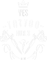 """HOODIE """"YES TATTOO HURTS A LOT"""" ENG"""