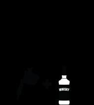 """Kubek"""" W życiu lubię, dwie rzeczy- tatuaże i whisky"""""""
