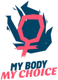 "Kubek ""My Body My Choice"""