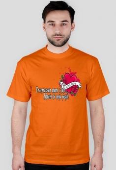 Koszulka Męska Przepraszam Mamo i Tato, Tatuaże To Moja Pasja!