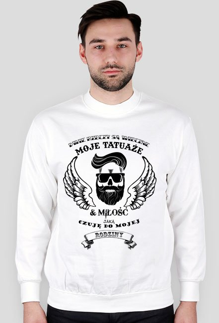 Bluza Męska DwieRzeczyTatuaże